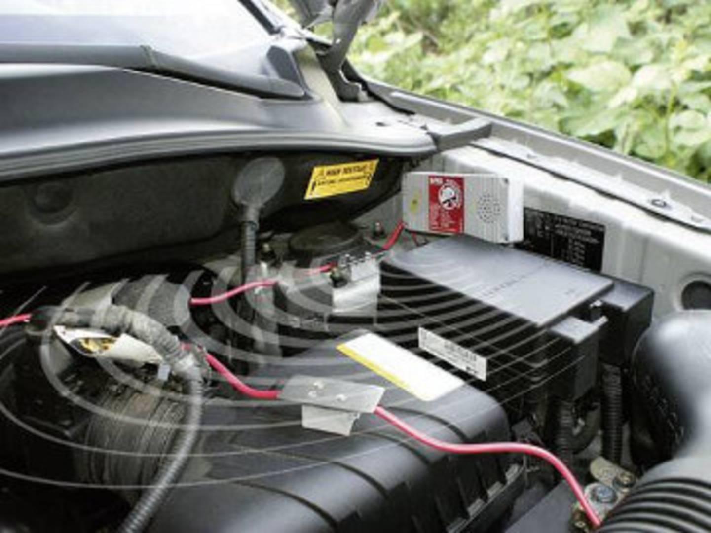 Motorraum