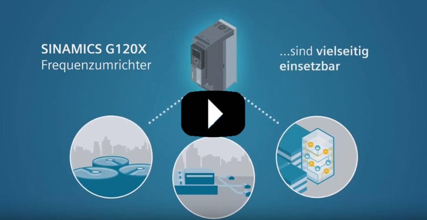 Siemens Sinamics G120X