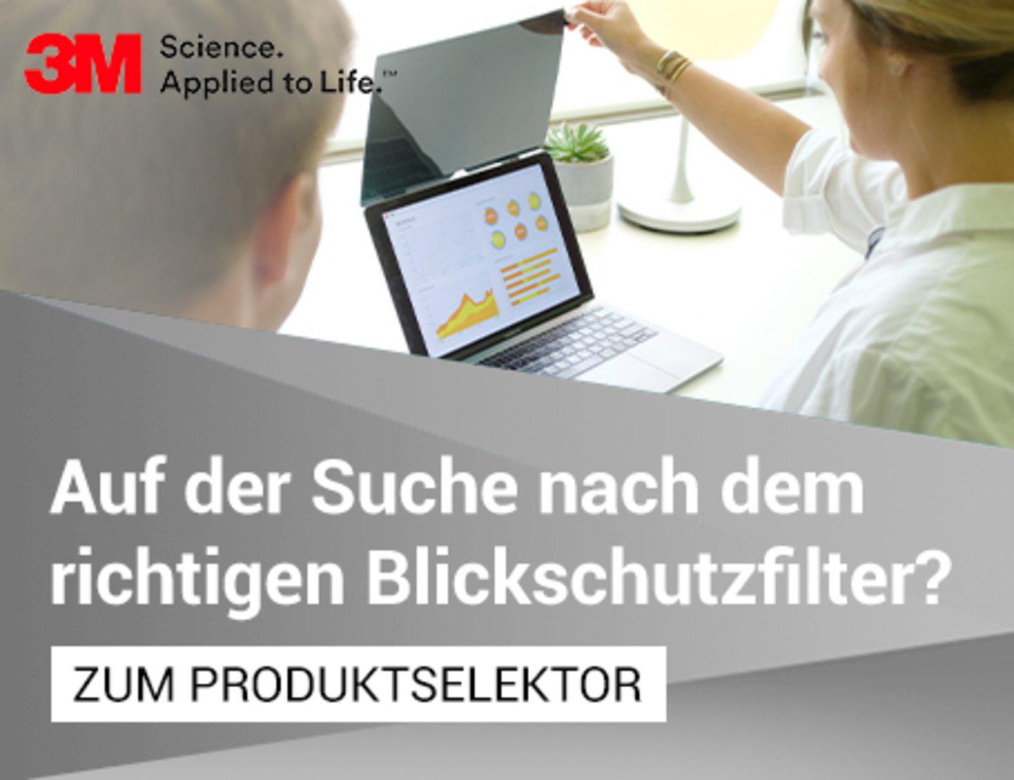 Blickschutzfilter Produktselektor