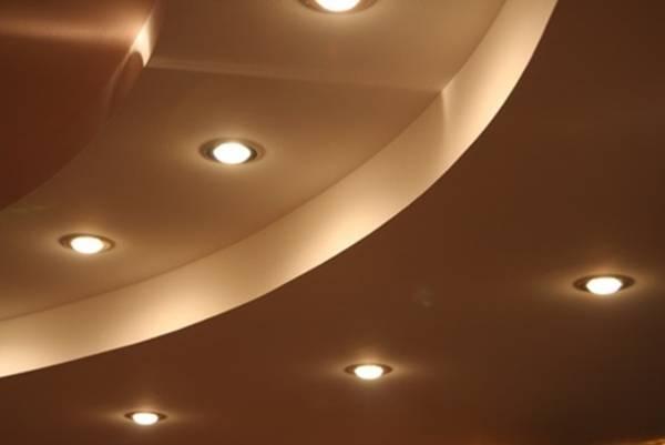 LED-Einbaustrahler für gut ausgeleuchtete Räume