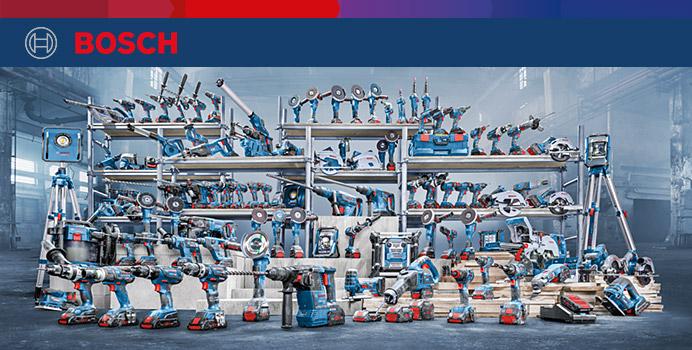 Das Bosch Professional 18V System
