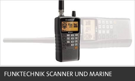 Funktechnik Scanner und Marine