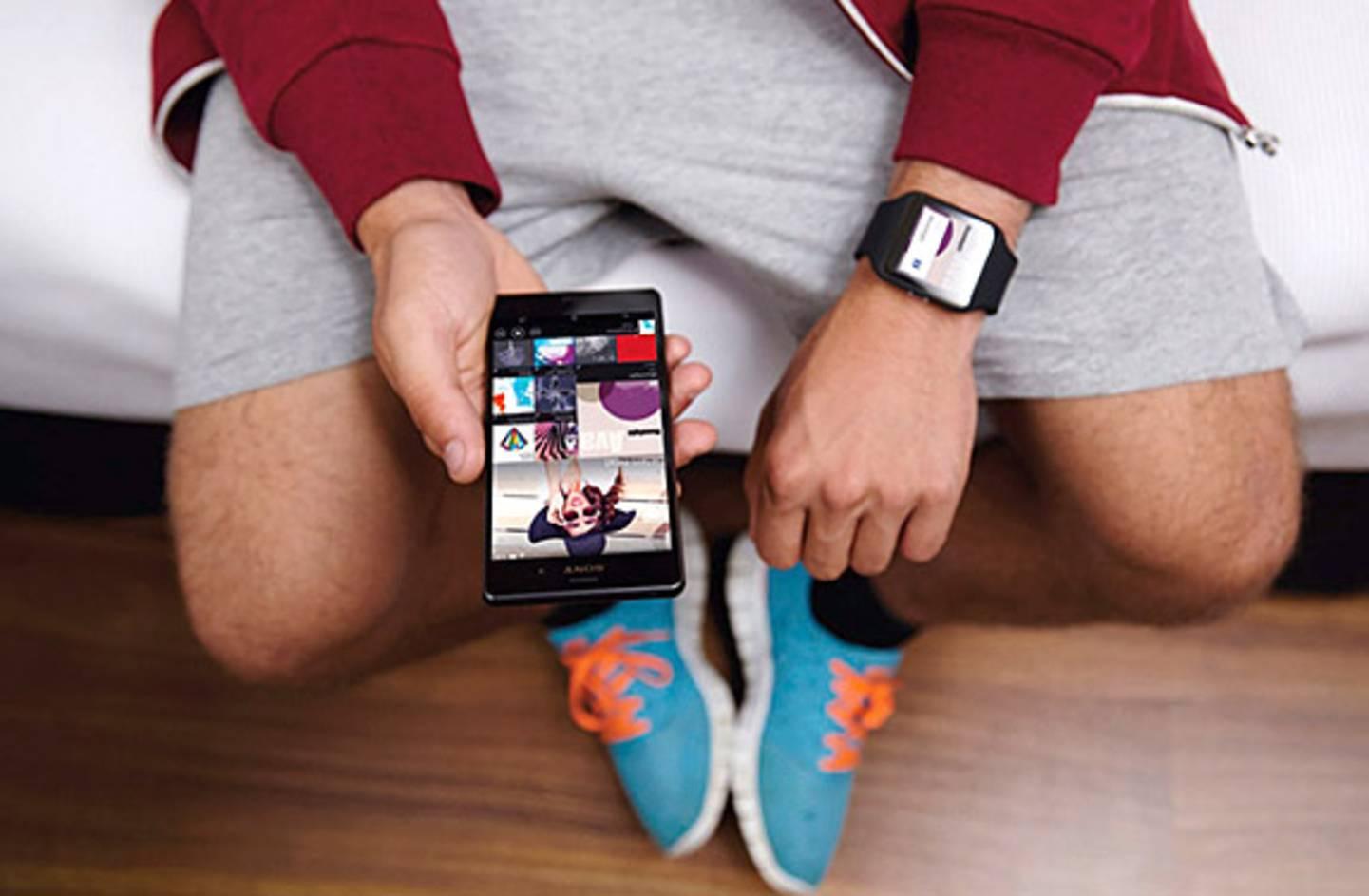 Smartwatch für den Sport
