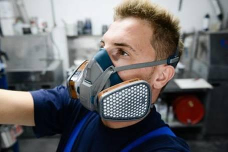 Atemschutz während der Arbeit