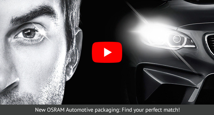 New OSRAM Automotive packaging: Find your perfect match!