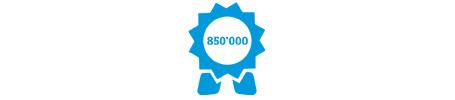 Mehr als 850'000 Millionen Produkte