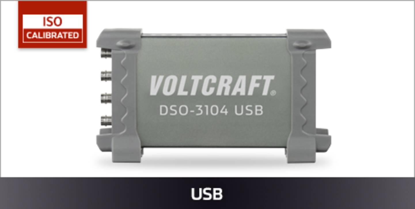 VOLTCRAFT USB Oszilloskope ISO kalibriert