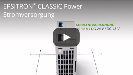 EPSITRON® CLASSIC Power - Stromversorgung