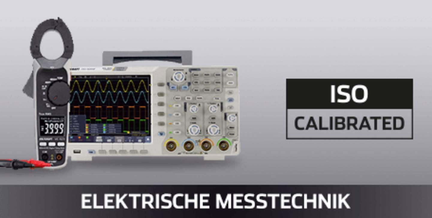 VOLTCRAFT Elektrische Messtechnik ISO kalibriert