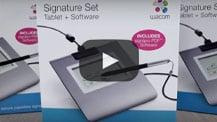 Wacom Signature Set Video