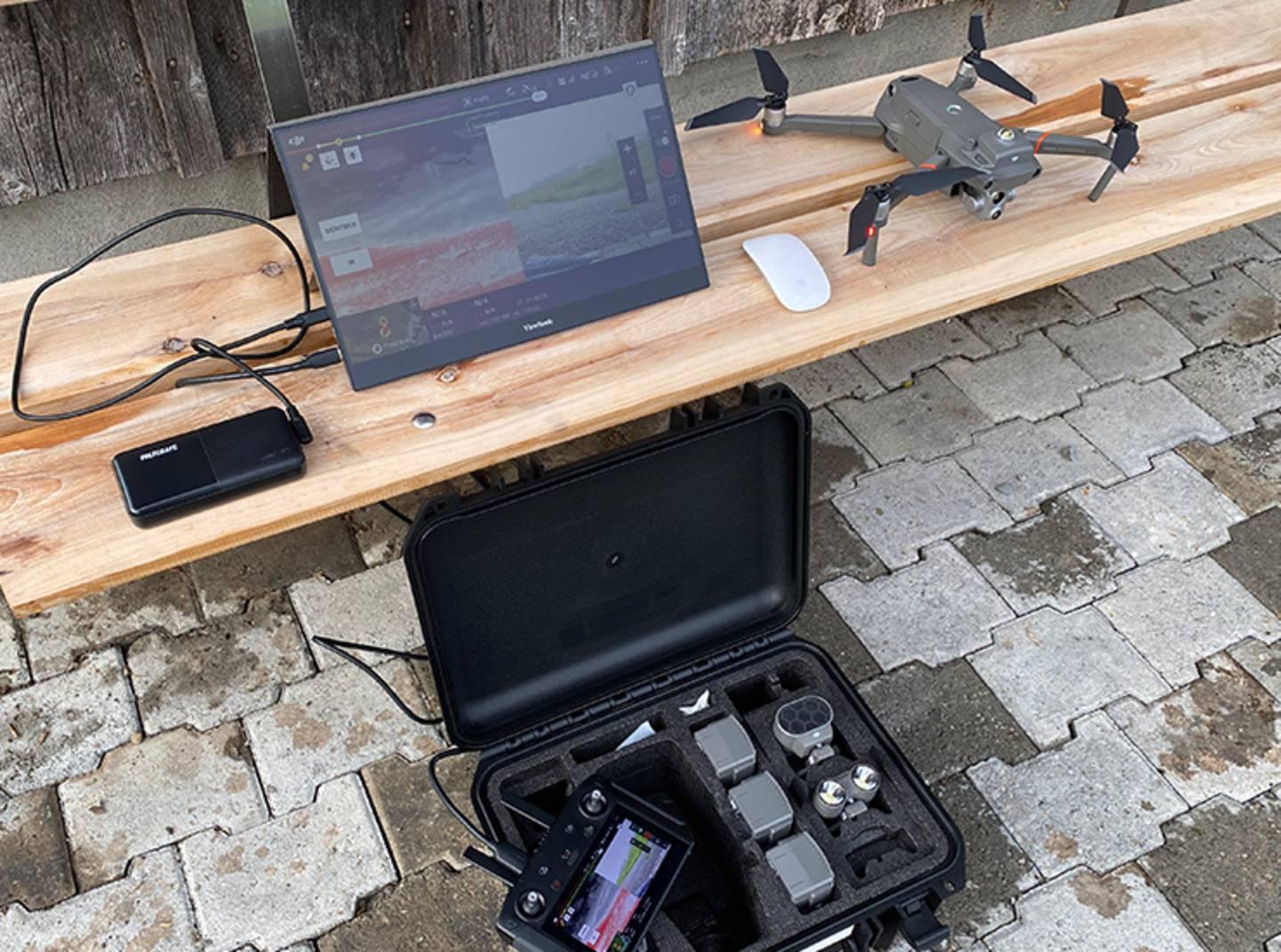 Rehkitzrettung mit Drohnen