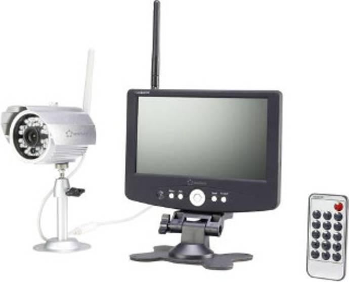 Funk-Überwachungskamera-Set mit einer Kamera