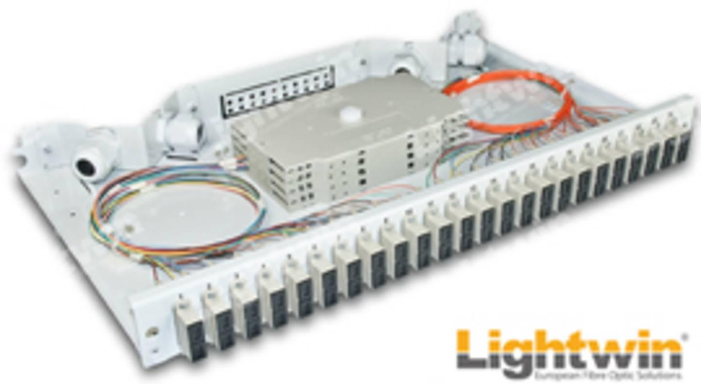 Spleissbox oder LWL-Verteilerlade