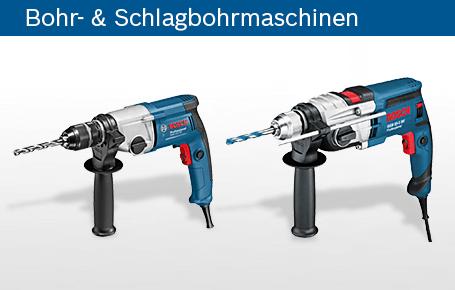 Bohr- & Schlagbohrmaschinen