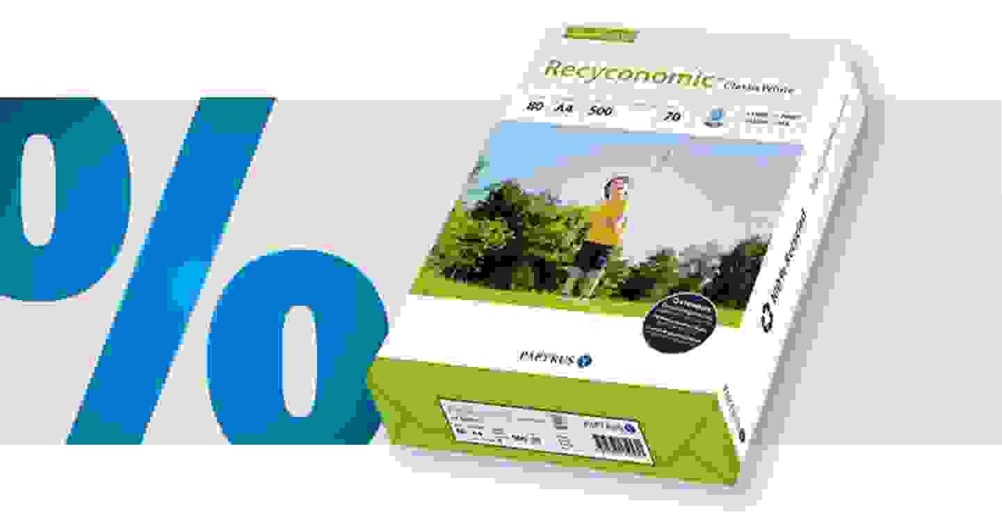Papyrus - Recycling Druckerpapier   DIN A4   80 g/m²   500 Blatt »