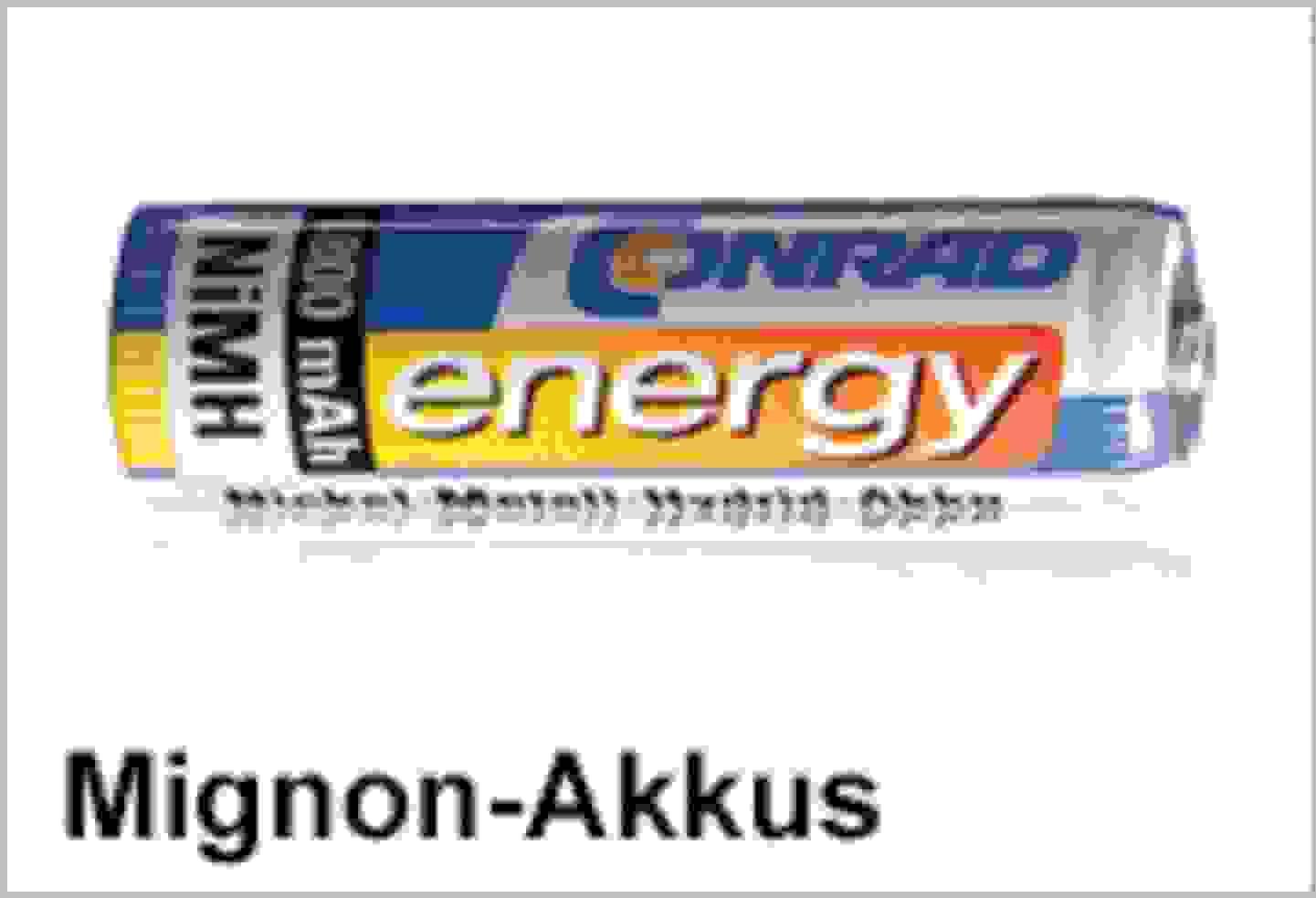 Conrad Energy Mignon-Akkus