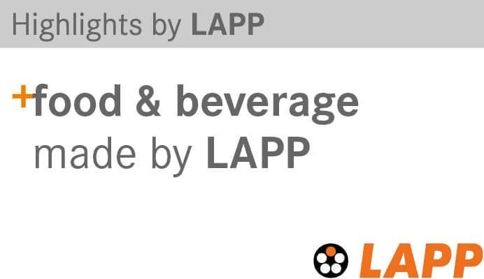 Highlights by Lapp food & beverage