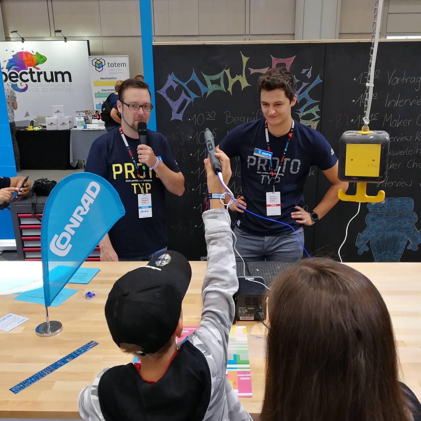 Maker Faire Hannover 2019 - Challenge