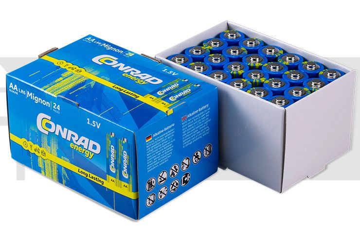 Conrad Energy - 72 St. Mignon (AA)-Batterien