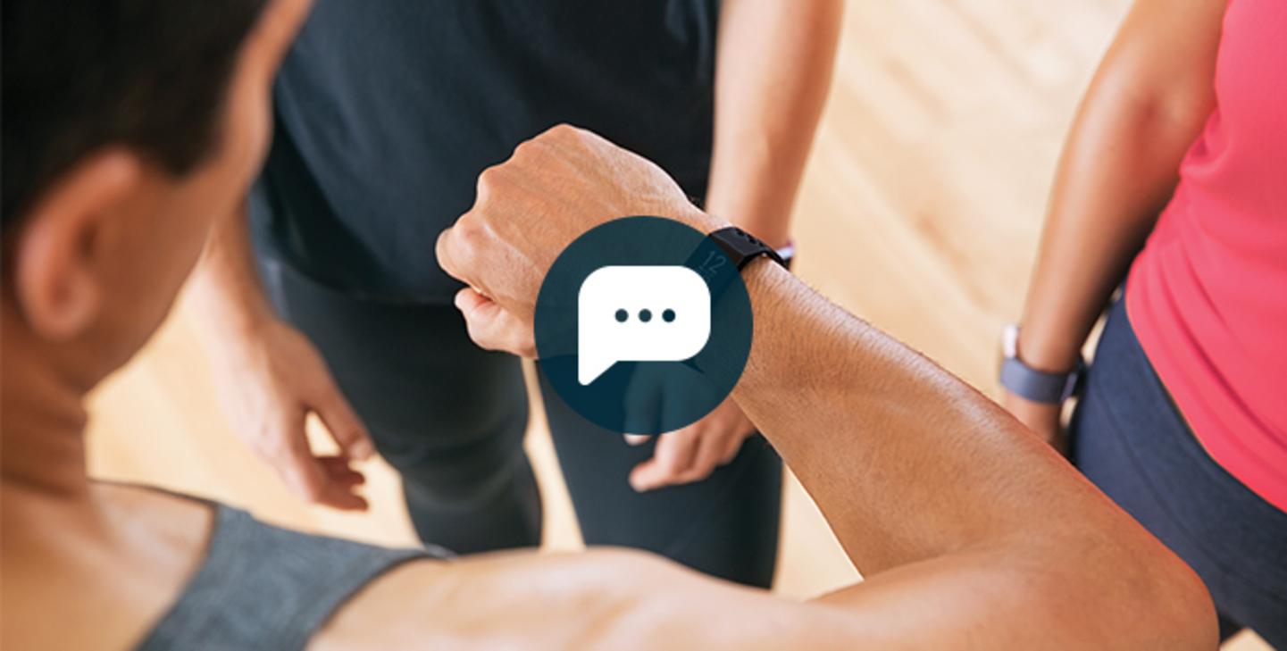 Anzeige von Anrufen, Nachrichten & App-Benachrichtigungen