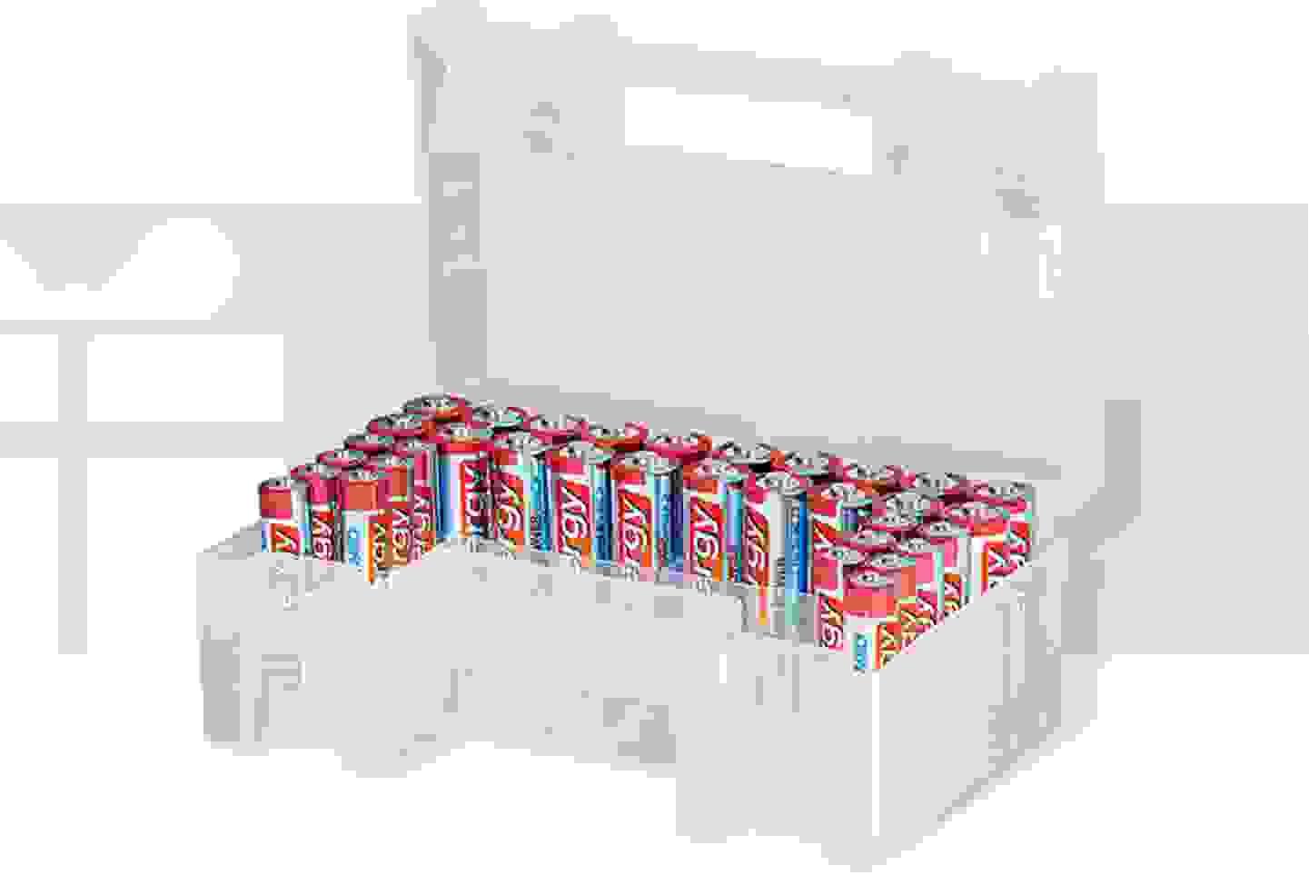 Conrad energy - Batterie-Set Micro, Mignon 34 St. inkl. Box