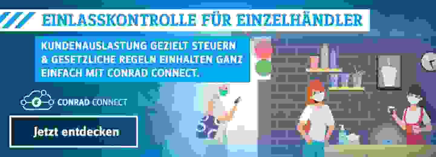 Conrad Connect Einlasskontrolle