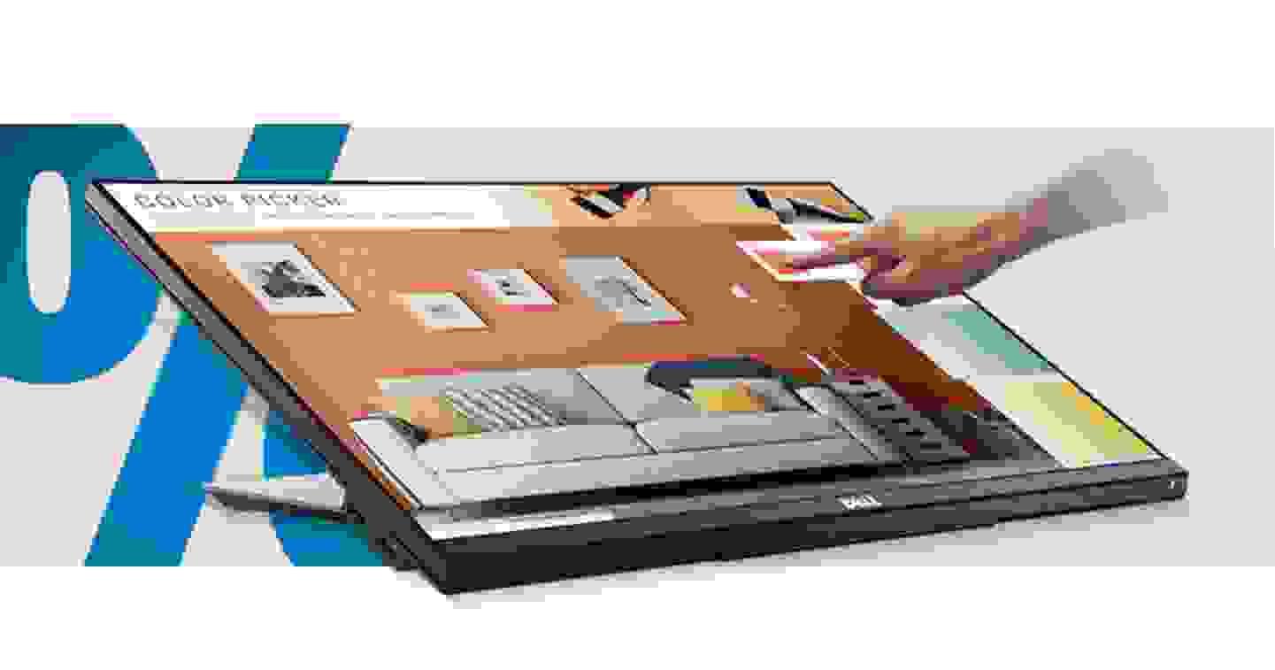 Dell - Touchscreen-Monitor EEK: A (A+++ - D) 61 cm (24 Zoll)  »