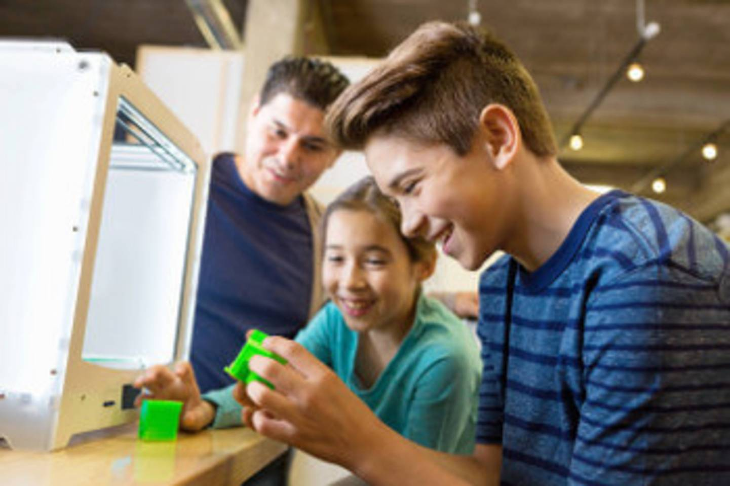Digitale Infrastruktur: Auch 3D Drucker sind möglich