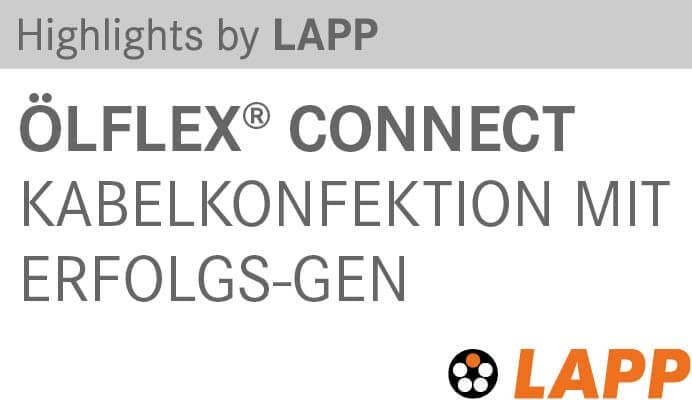 Highlights by Lapp ÖLFLEX CONNECT