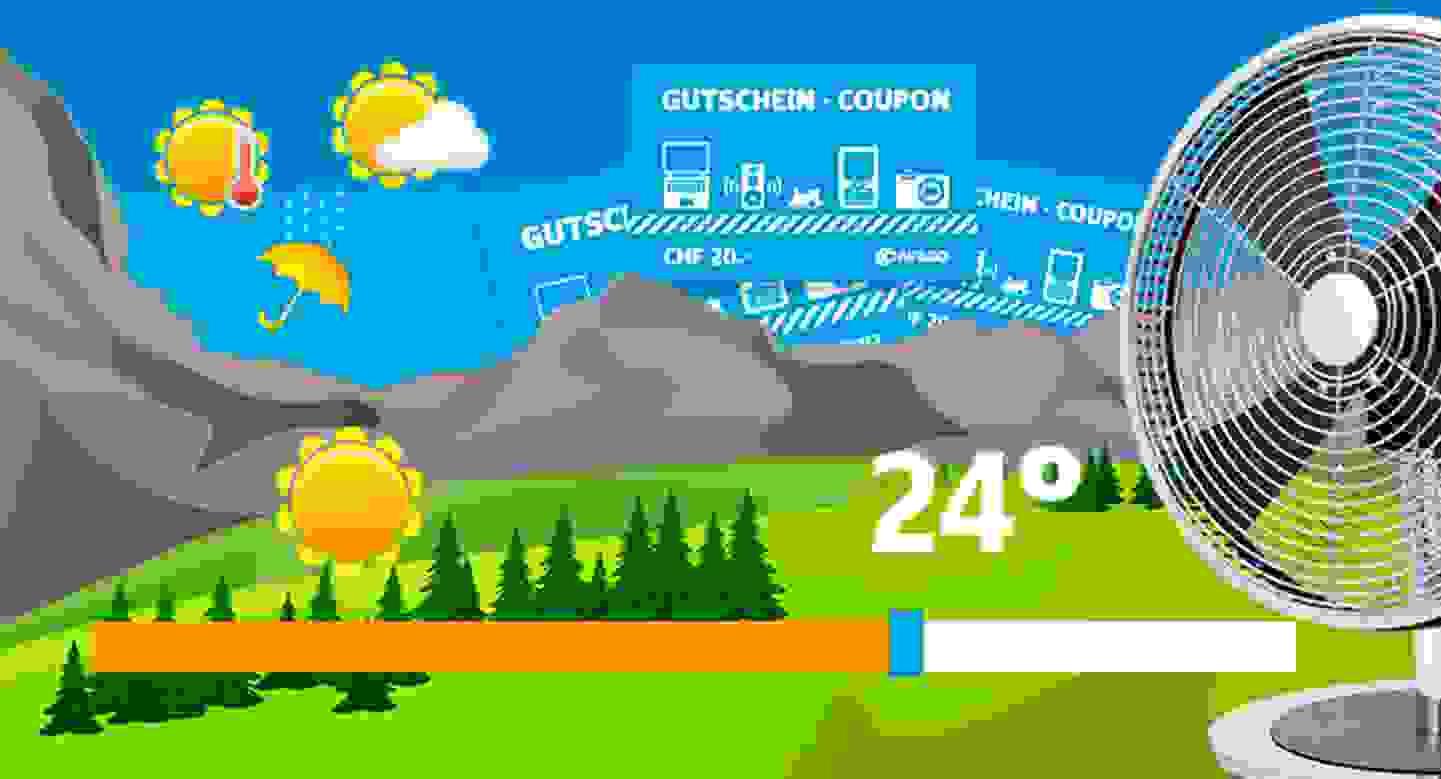 Das Conrad Temperaturschätzspiel