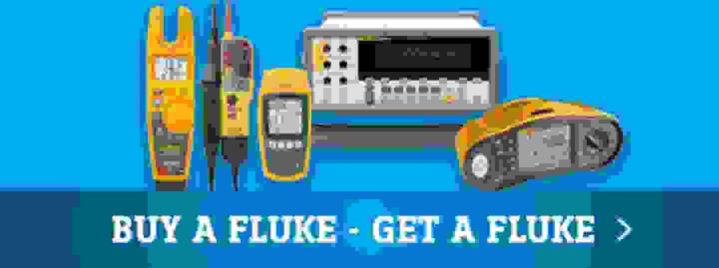 Buy a Fluke - Get a Fluke