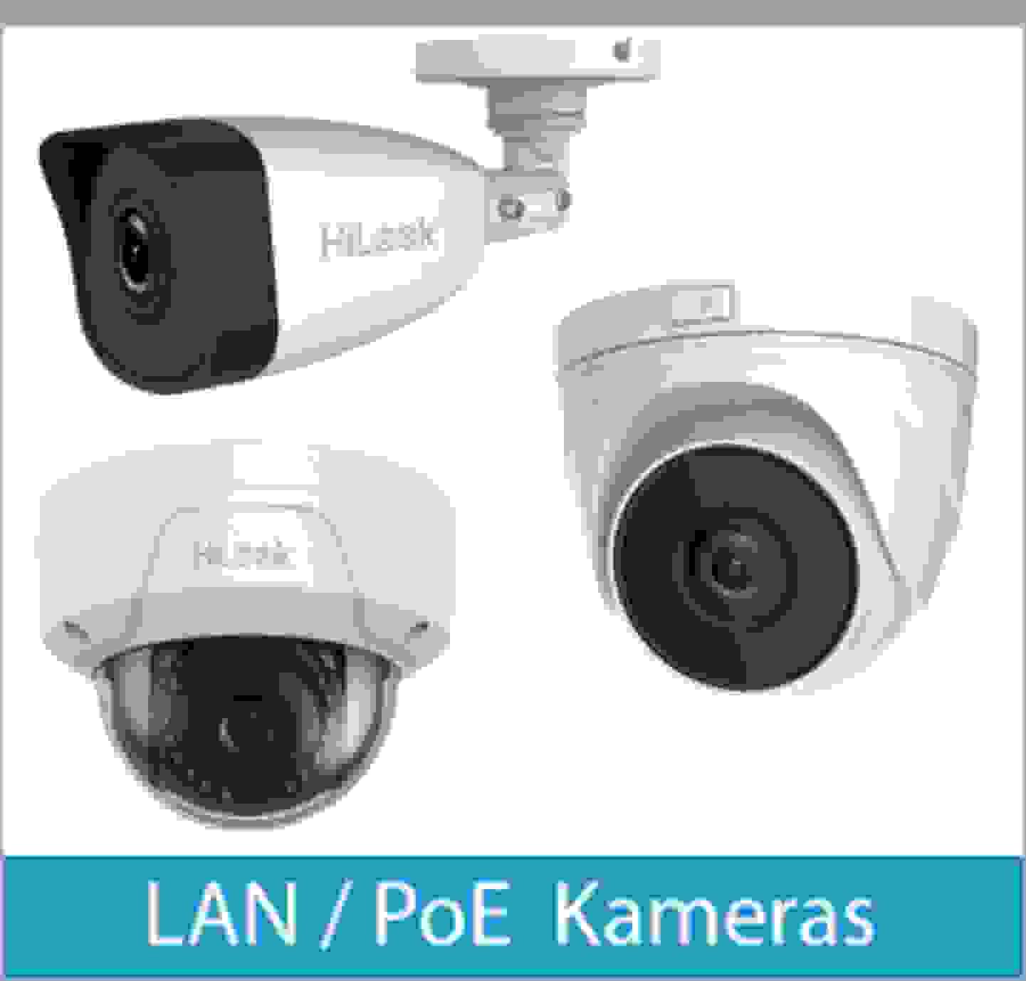 LAN / PoE Kameras