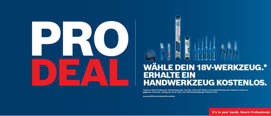 Bosch Professional Pro Deal