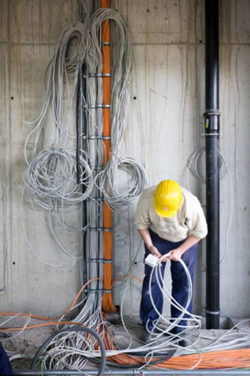 Komplexe Netzwerke sind nicht einfach aufzubauen.
