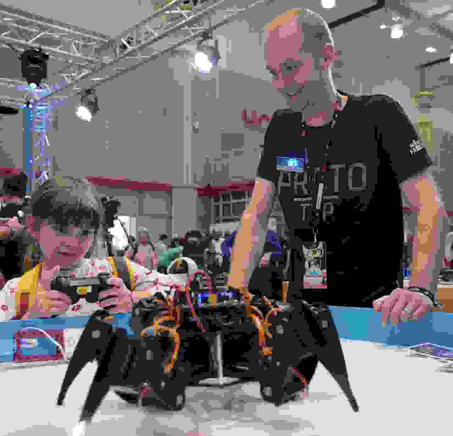 Maker Faire Hannover 2019 - Robobug