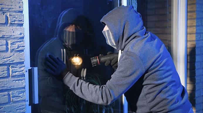 Einbruchsschutz durch Dome-Kameras