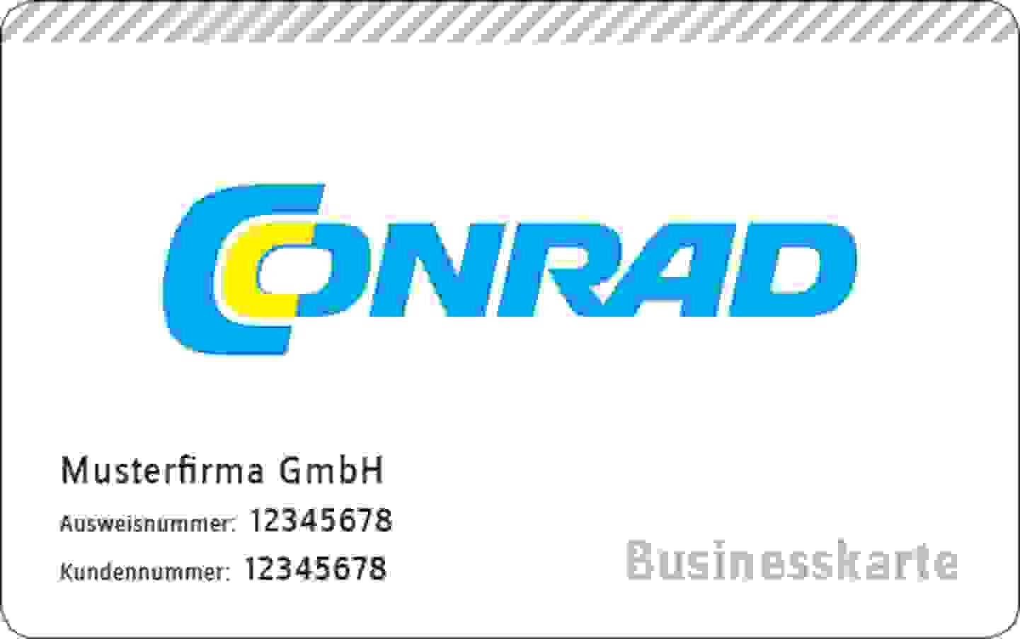 Businesskarte jetzt kostenlos anfordern »