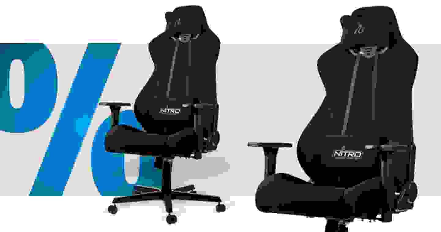 Concepts S300 Stealth Black Gaming-Stuhl