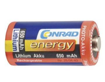 Conrad Lithium 650 mAh PHOTO-Akku