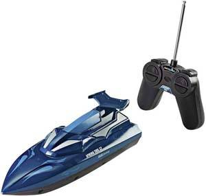 Remote-controlled speed boat