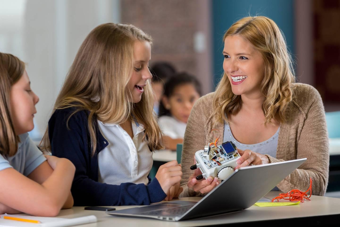 Digitales Lernen im MINT-Unterricht