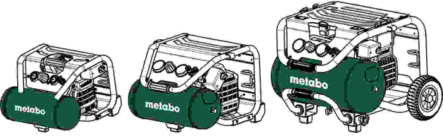 Tankgröße von Kompressoren