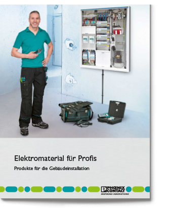 Elektromaterial für Profis