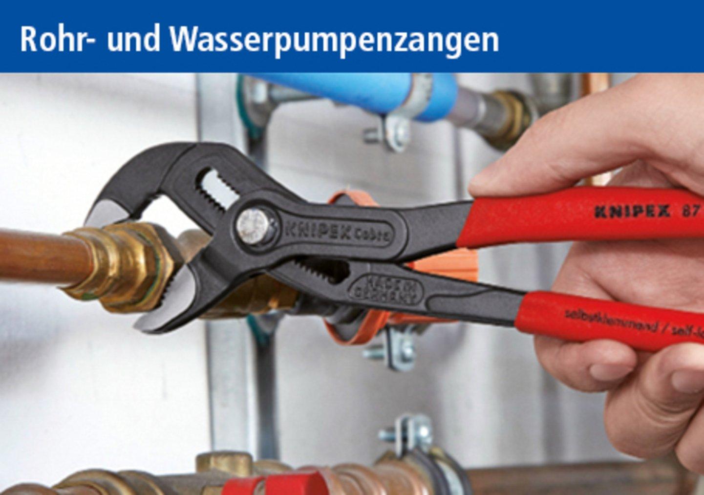 Rohr- und Wasserpumpenzangen