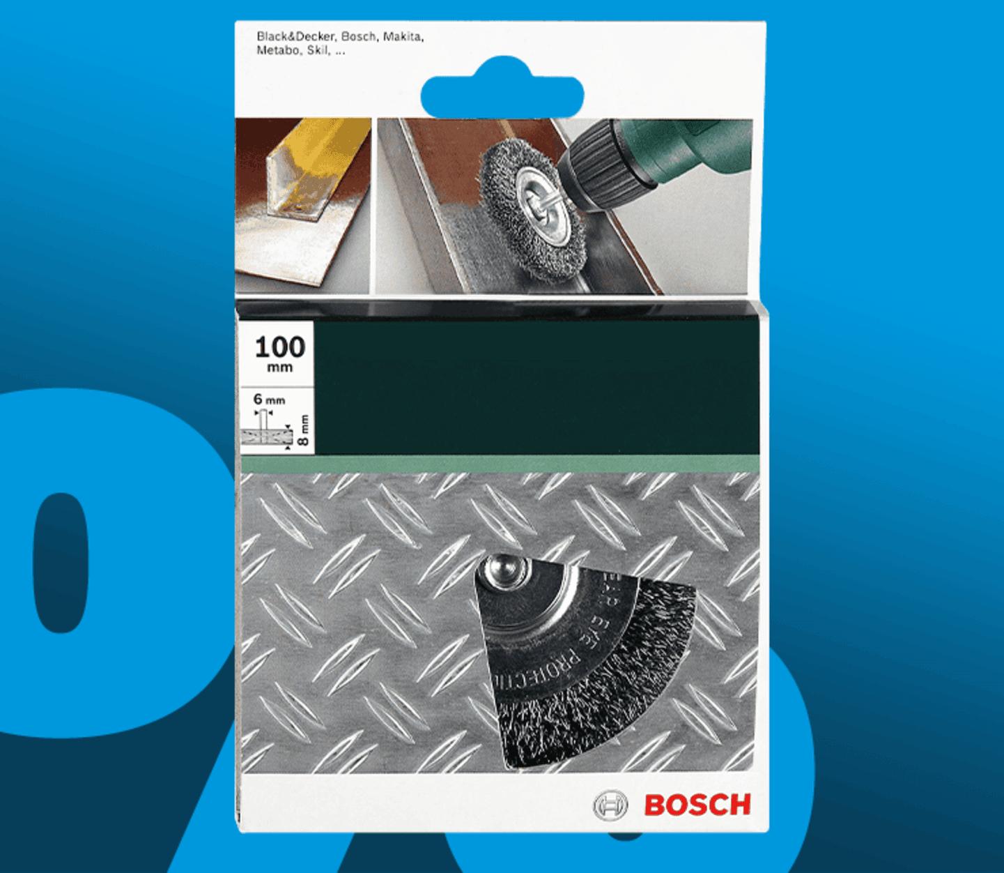 Bosch Accessories - Scheibenbürste Draht