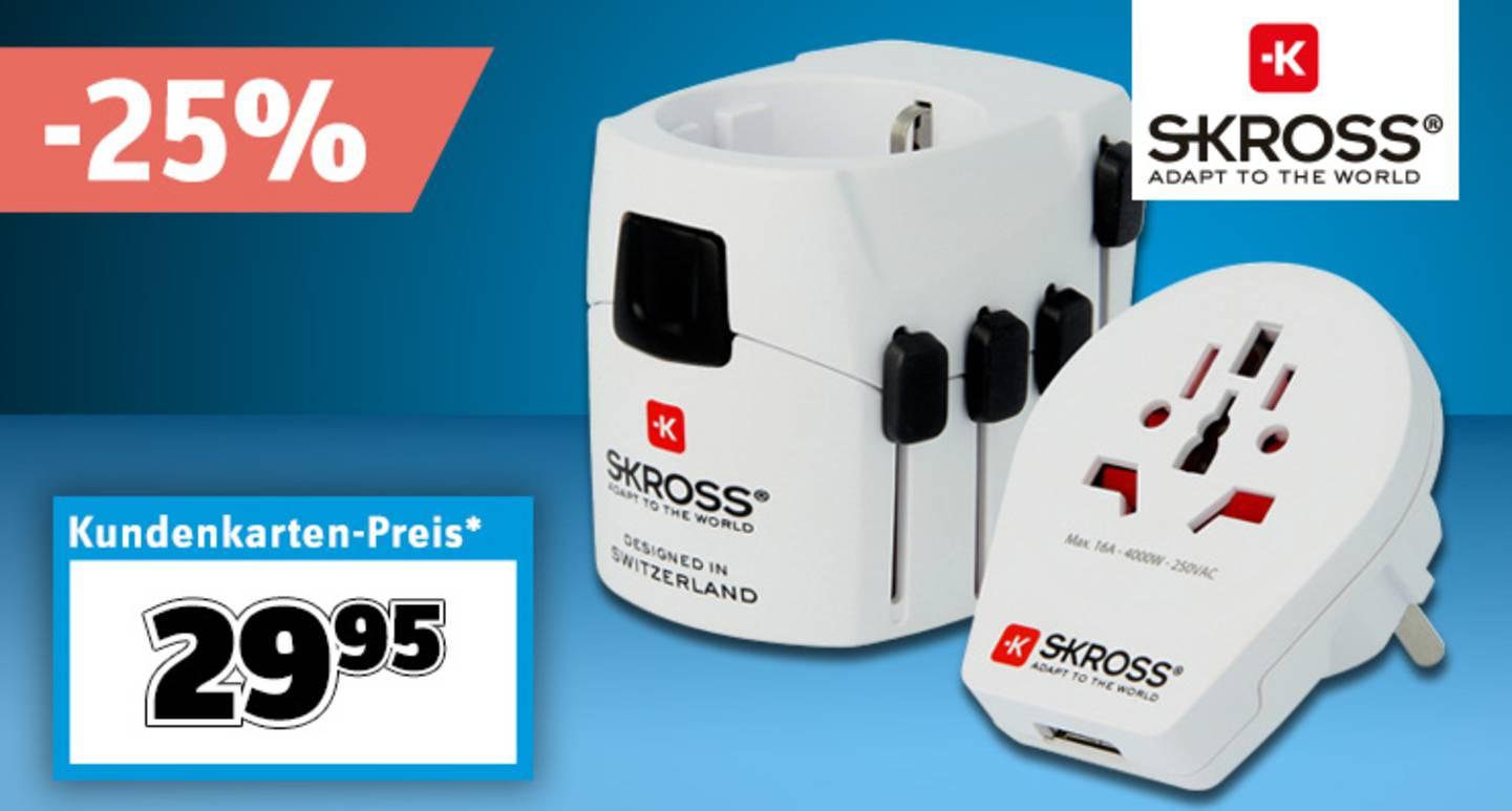 Skross - Reiseadapter PRO World & USB »