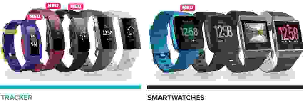 fitbit Tracker & Smartwatches
