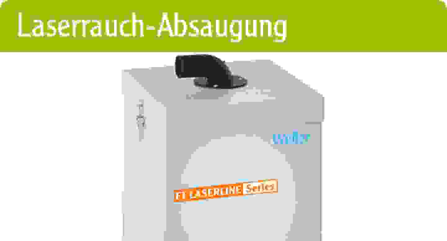 Laserrauch-Absaugung