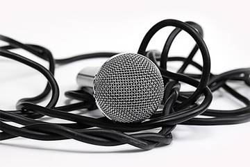 Kabelgebundenes Mikrofon