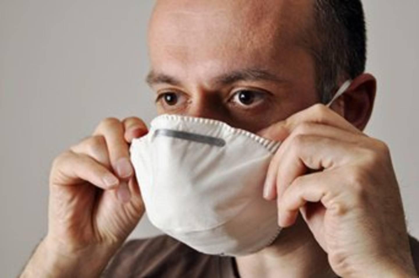 Atemschutz muss gut auf dem Gesicht sitzen